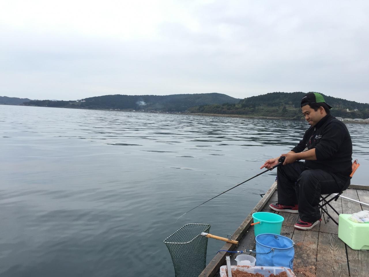 筏 釣り 能登島